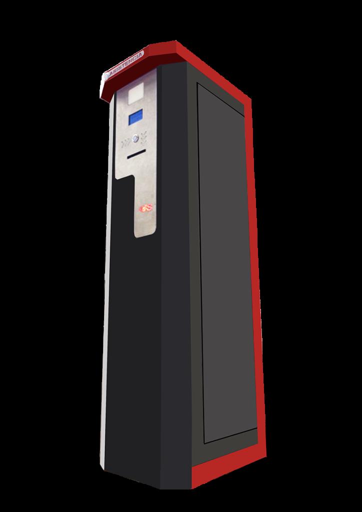 Sistema equipos y plumas de estacionamiento